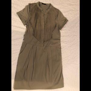 BCBG khaki dress